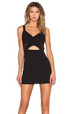 x Naven Twins Earned It Bodycon Dress in Black