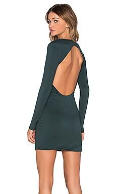 x REVOLVE Trilogy Dress in Hunter Green