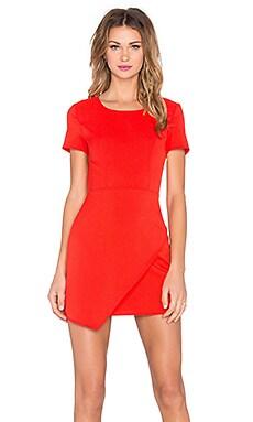 x Naven Twins Breathtaking Dress in Red