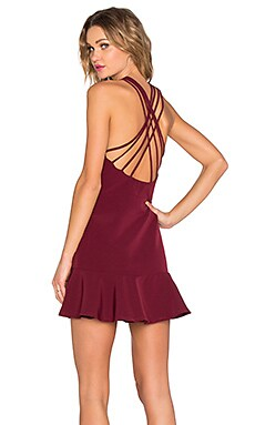 Bound For Glory Dress in Oxblood