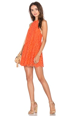 Big Ego Dress in Coral