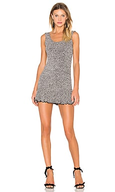 x REVOLVE There's Time Ribbed Dress in Black
