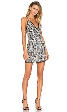 Sloan Dress in Silver Sequin