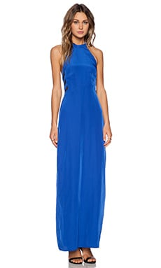 Penthouse Maxi Dress in Cobalt