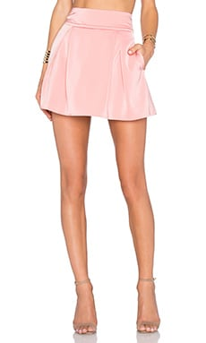 Dynamic Skirt in Coral Haze