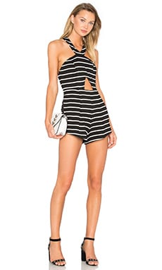 Dusk Romper in Black & White