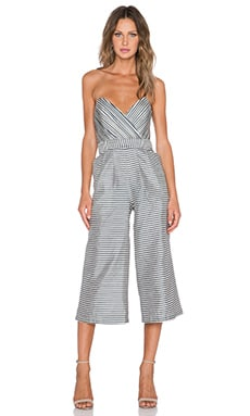 Be My Lover Jumpsuit in Stripe