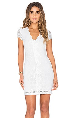 Victorian Lace Cap Sleeve Dress in Dove