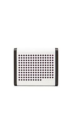 The Mini Blaster Speaker in White & Purple