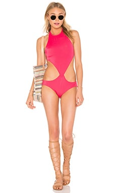 x REVOLVE Chuck One Piece in Fuchsia