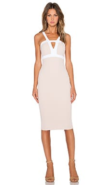 Seymour Bodycon Dress in Nude