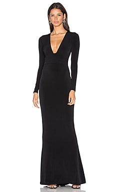 Cherish Long Sleeve Maxi Dress in Black