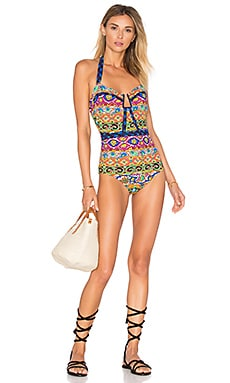 Carnaval Seductress One Piece in Multi