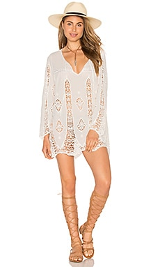 Carnaby Crochet Tunic in White