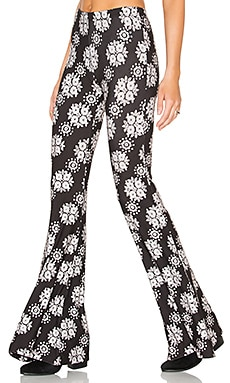Janis Bell Bottoms in Black Moonrise