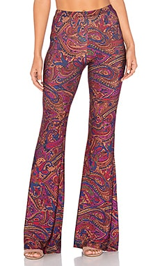 Janis Bell Bottoms in Red Filmore