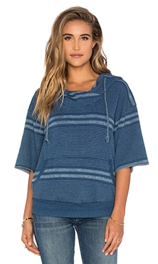 Imani Sweatshirt in Blanket Stripe