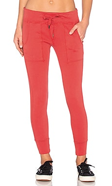 #alldayNSF Rue Sweatpant in Passion Red