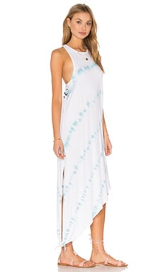 Permanent Vacation Dress in Blue Multi