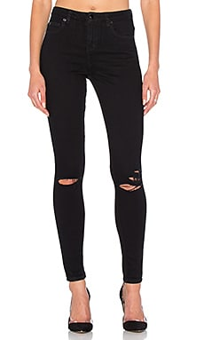 Slasher Skinny Jean in Black