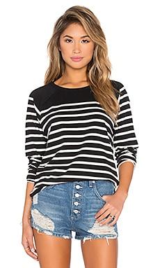 Mitchell Sweatshirt in Black Multi