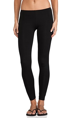 So Fine Layering & Lounge Legging in Black