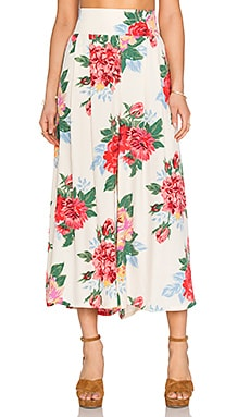Palazzo Pant in Rosa Floral