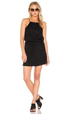 Anjelica Dress in Black Overdye