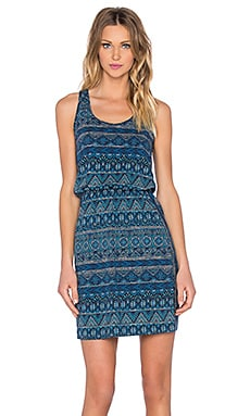West Ashley Dress in Navy Blue