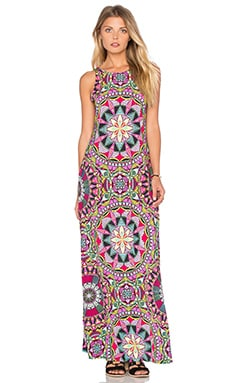 Sloan Maxi Dress in Mandala