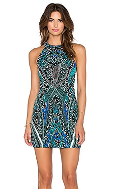 Hayes Embellished Dress in Meridian