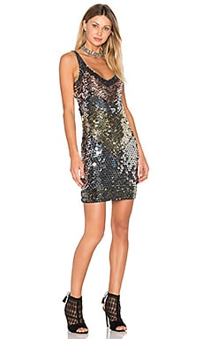 Benny Dress in Metallic