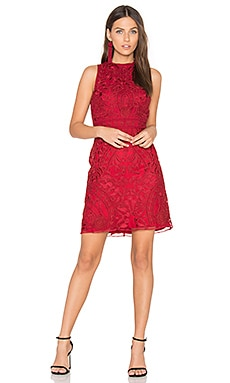 Caddie Dress in Cranberry