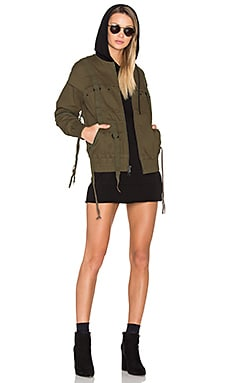 x Revolve Reject Jacket in Olive
