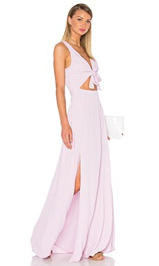 Byron Dress in Lavender