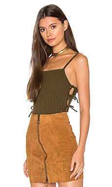 Arden Bodysuit in Green