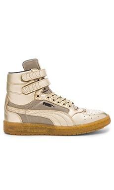 Sportstyle Sky II Hi Metallic Hi-Top Sneaker in Metallic Gold