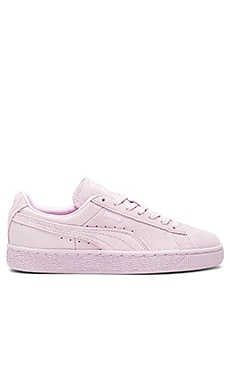 Classic Emboss Sneaker in Lilac Snow