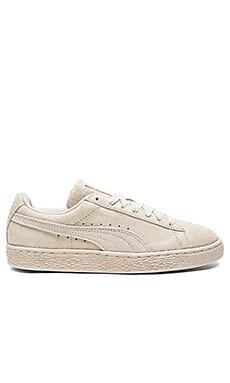 Suede Remaster Sneaker in Birch