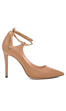 Laced Ankle Heel in Baby Nap Camel