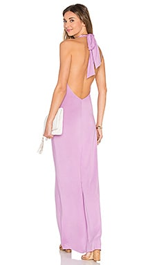 Fausto Maxi Dress in Lavender