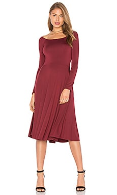 Long Sleeve Lovely Dress in Heirloom