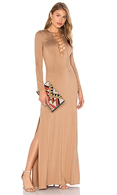 Long Sleeve Jolene Dress in Sandstone