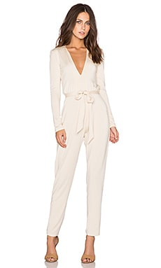 Allen Jumpsuit in Cream