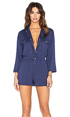 Altman Playsuit in Atlantic