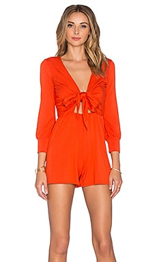 Gabriel Playsuit in Caliente