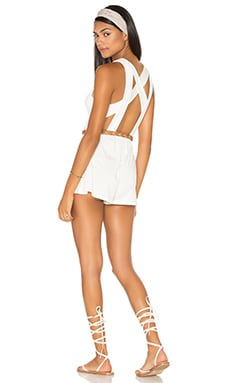 Ko Playsuit in White