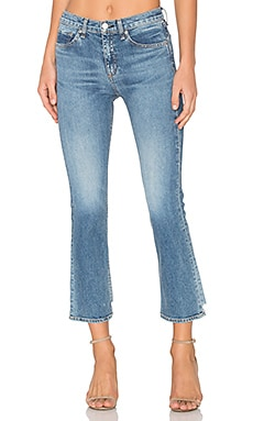 JEAN DROIT CROPPED 10 INCH