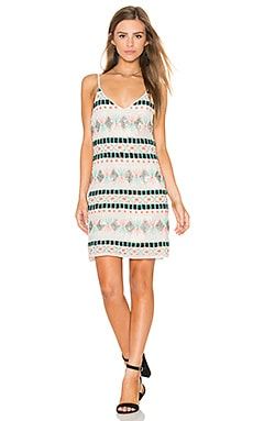 Silver Sun Dress in Multi