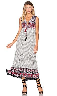 Dreamweaver Dress in Black & White